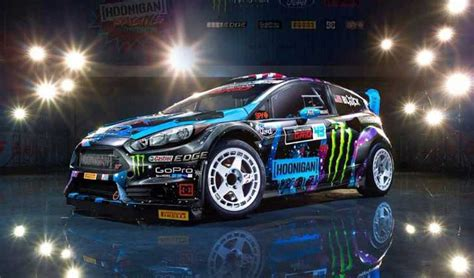 Ford Rally Car by Ken Block S Ford Rally Car Up For Sale