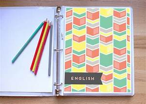 7 DIY NOTEBOOKS AND BINDER TO MAKE ORGANIZING FUN