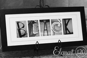 wall art decor canvas related last name framed wall art With last name letters photography