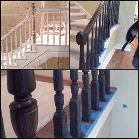 Mahogany Banister by Faux Iron And Mahogany Stair Railing Angelfish It S