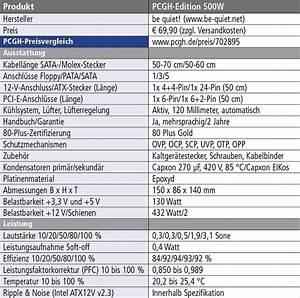 Watt Berechnen Pc : pcgh netzteil mit 80 plus gold und 500 watt f r rund 70 euro im test bei planet3dnow update ~ Themetempest.com Abrechnung