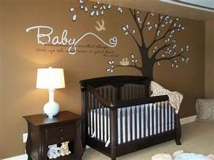 decoration mur chambre bebe With chambre bébé design avec livraison fleurs artificielles deuil