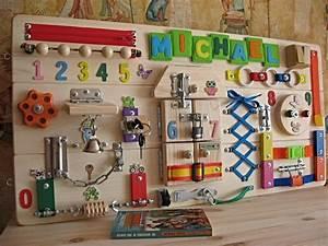 Activity Spielzeug Baby : personalized busy board wooden toy childrens activity toy ~ A.2002-acura-tl-radio.info Haus und Dekorationen