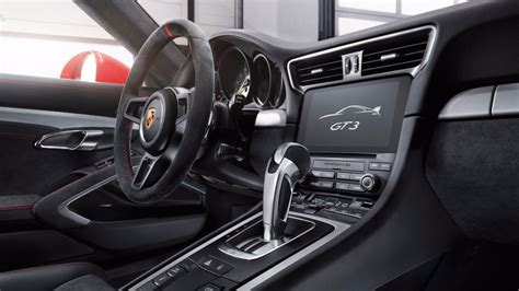 porsche carrera interior 2017 new 2018 porsche 911 gt3 photo gallery images