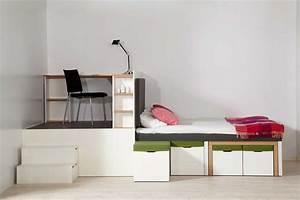 Platzsparende Multifunktionale Möbel : platzsparende m bel 25 ideen f r kleine r ume ~ Michelbontemps.com Haus und Dekorationen