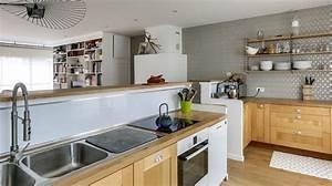 Deco Cuisine Bois : d corer la cuisine relooking peinture d co carrelage c t maison ~ Melissatoandfro.com Idées de Décoration