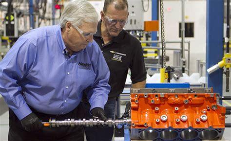 rick hendrick builds    copo camaro engine