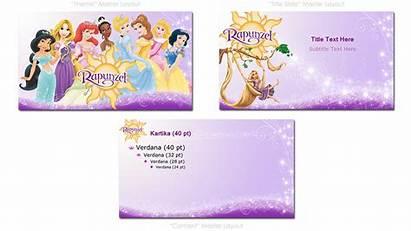 Disney Rapunzel Princess Powerpoint Template Portfolio