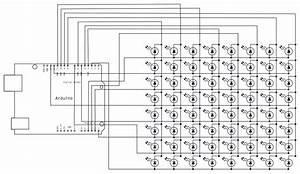 arduino rowcolumnscanning With wiring matrix board