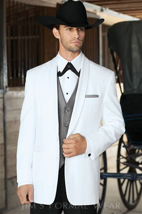 el rey white western tuxedo jims formal wear helpful
