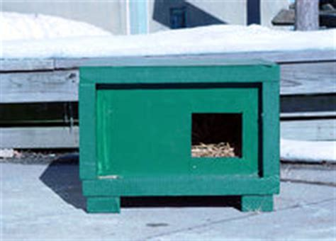 Neighborhood Cats  How To Tnr  Feral Cat Winter Shelter