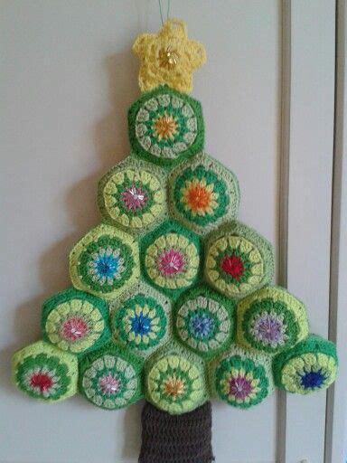 arbol de navidad de crochet crochet y tejidos