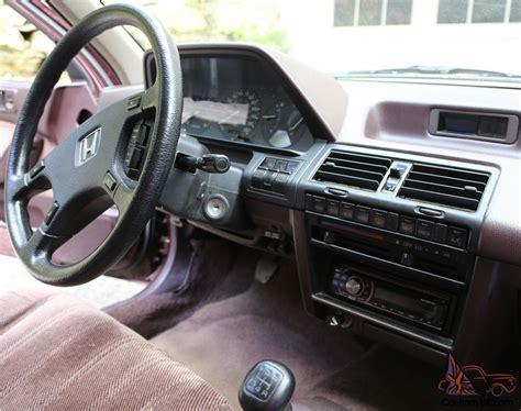 Honda Stick Shift by Honda Accord Lx Sedan Stick Shift Collector Grade