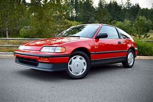 1988 Honda Crx Si For Sale On Bat Auctions