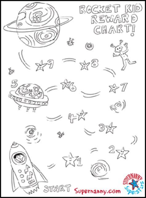 reward charts    year olds rocket kid supernanny superstars reward chart