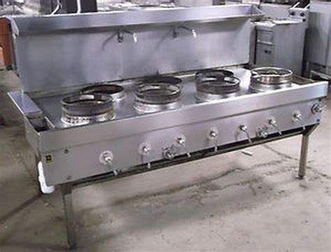 secondhand catering equipment wok cooker   heavy