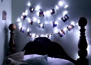 Guirlande Deco Chambre : fabriquer une guirlande lumineuse porte photos ~ Teatrodelosmanantiales.com Idées de Décoration
