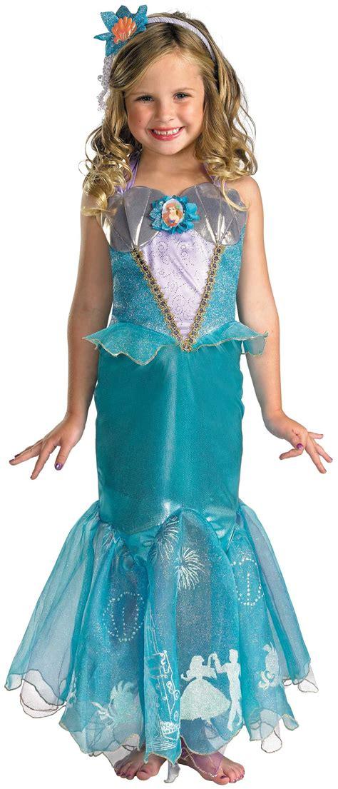 disney princess ariel  mermaid kids costume