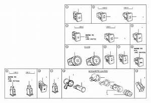 2019 Toyota Tacoma Switch  Auto High Beam  Engine