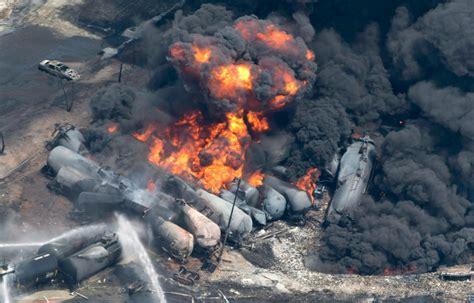 Environmental Impact Of Lacmegantic Disaster Still