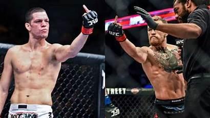 Nate Diaz Mcgregor Conor Ufc Background Fight