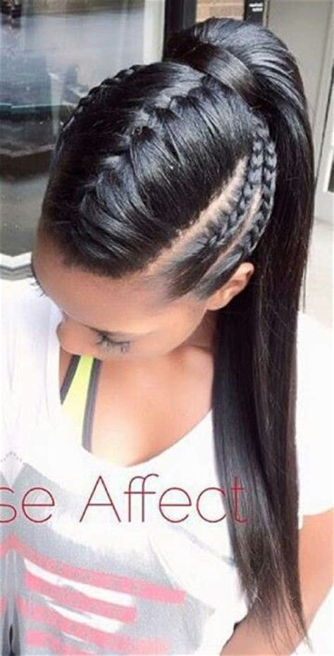 17 Best ideas about French Braid Mohawk on Pinterest