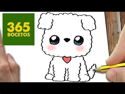 como dibujar perro whatsapp kawaii paso a paso dibujos kawaii faciles how to stich