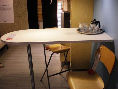 ikea bar table flickr photo