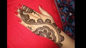 Easy Simple Latest Arabic||Heena||Beautiful Mehndi Designs ...