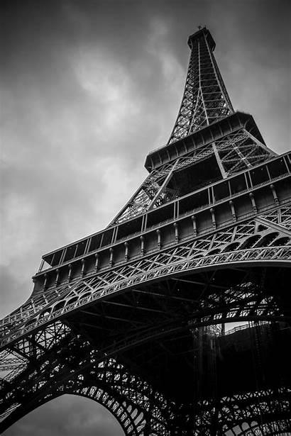 Eiffel Tower Night Landmark Cityscape Sky Bridge