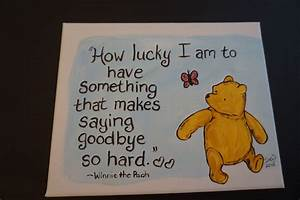 Classic Winnie ... Classic Goodbye Quotes