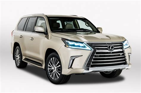 2018 Lexus LX Gets Five-Seat Variant With More Cargo Space ...