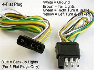Electrinic And Circuit  Large Blade Type Plug Wiring