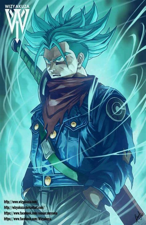 trunks del futuro ssgss dragon ball super personajes de
