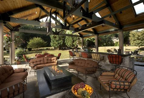 Kitchens Remodeling Ideas - large covered outdoor living space remodel mcadams remodeling