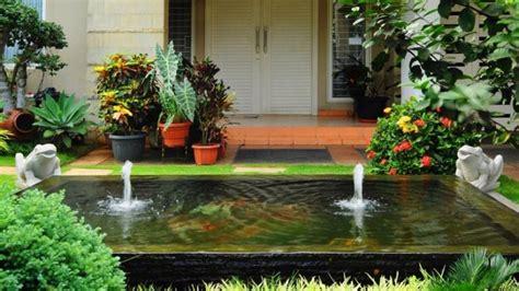 tips kolam minimalis membawa kesegaran  taman