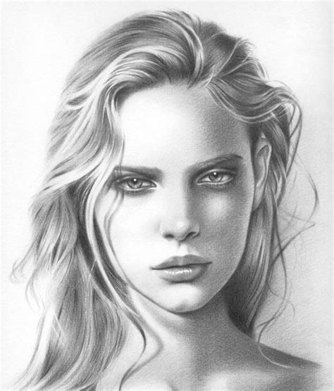 disegni a matita di ragazze disegni a matita di donne e ragazze idee esempi e