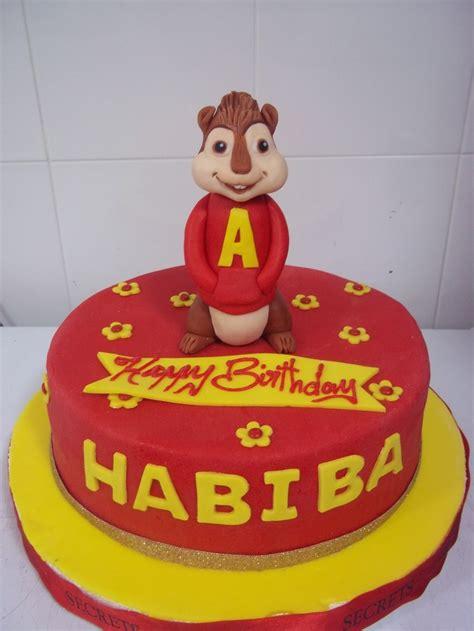 alvin the chipmunk cakes chipmunks cake and birthdays