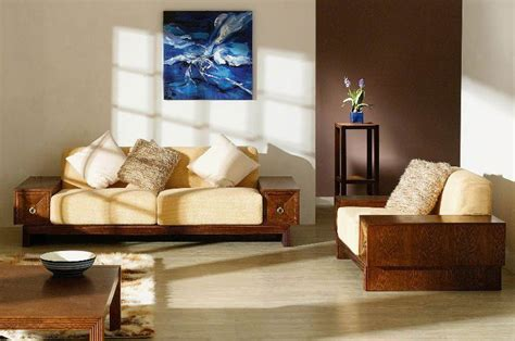 Solid Wood Sofa Set by Small Living Room With Simple Solid Wood Sofa Sets