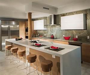 Cuisine Americaine Ikea : appartement design luxe avec superbe vue sur la mer miami beach vivons maison ~ Preciouscoupons.com Idées de Décoration