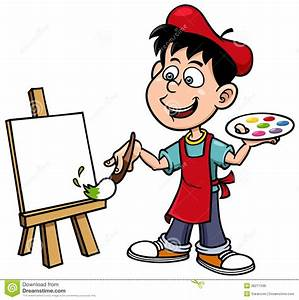 Painter cliparts