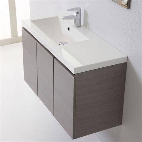mobile bagno lavandino mobile sospeso per bagno moderno da 90 cm con ante kv store