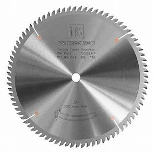 Table Saw Blade - PRO SERIES Leitz Cross Cut 80T