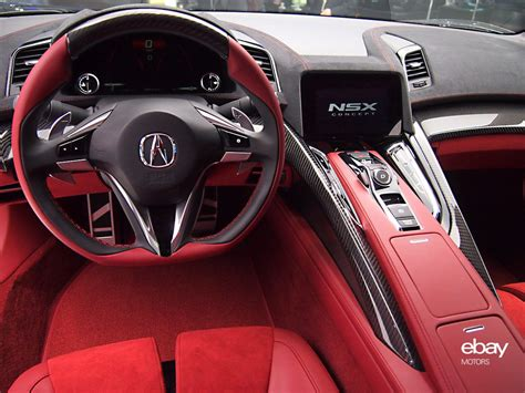 2015 Acura Nsx Interior High Quality Picture Hd Wallpaper
