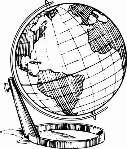 Globe Illustration Clipart