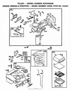 Ayp  Electrolux 3352b99  1999  Parts Diagram For Engine