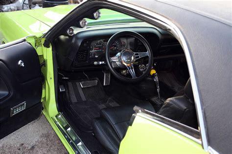 dodge challenger custom interior 1970 dodge challenger custom hardtop 191174