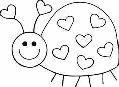 Cute ladybug clipart black and white collection