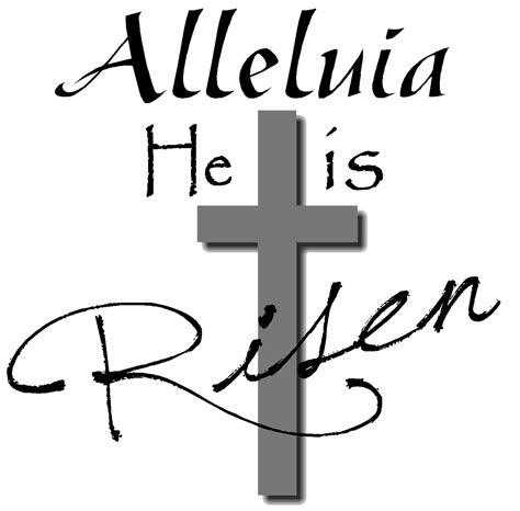 easter cross clipart black and white religious easter clip black and white our inter