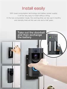 B30 Waterproof Wifi Battery Doorbell Camera Video Wireless